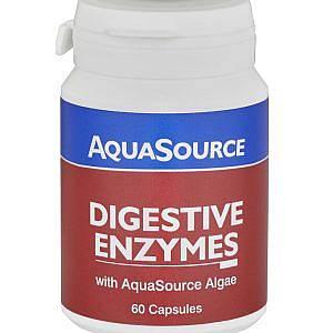 Храносмилателни ензими с водорасли АФА