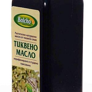 "Тиквено масло ""Балчо"" 500мл"