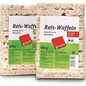 Вафли оризови без сол 100гр