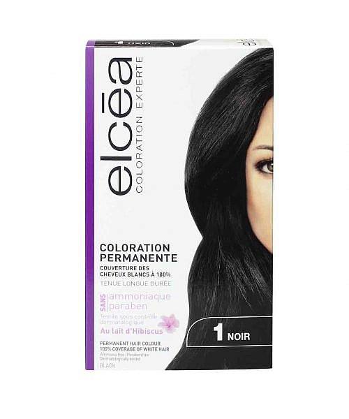 Безамонячна боя за коса Elcea цвят черно 1