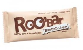 Roobar Суров бар баобаб и джинджифил 30гр