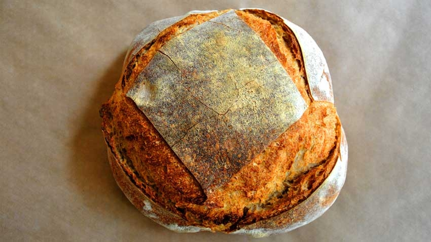 Хляб с ръж пълнозърнест 100 процента 700 гр
