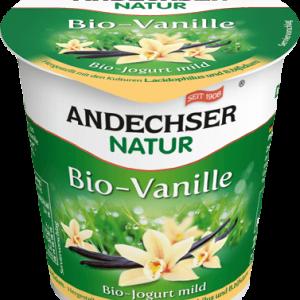 Био кисело мляко с вкус на ванилия 3,7% 150гр Andechser