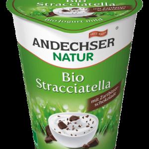 Био кисело мляко страчатела 3,7% 400гр Andechser