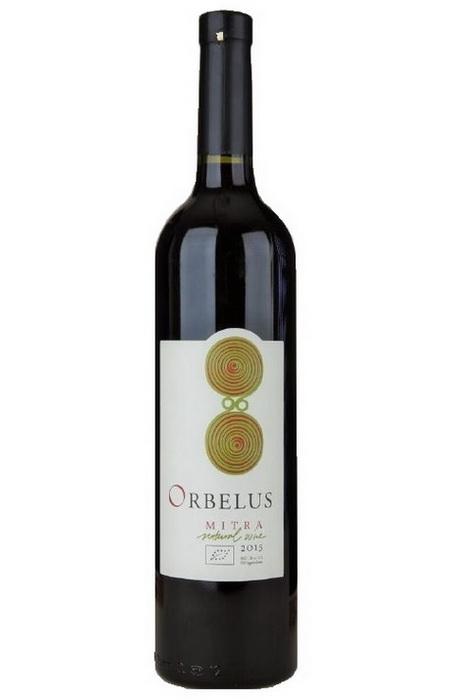 Био вино Митра 2015 750мл Орбелус