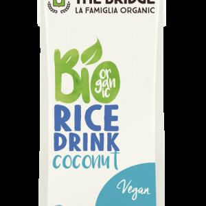 Био оризова напитка с кокос 250мл