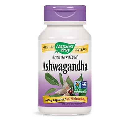 Ашваганда 500 mg Nature's Way
