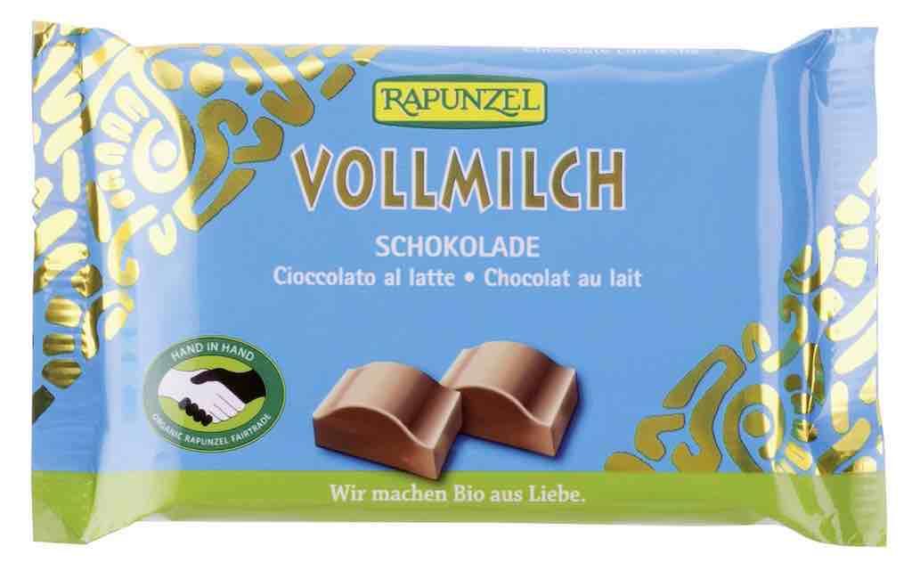 Шоколад млечен 100 гр. Rapunzel БИО