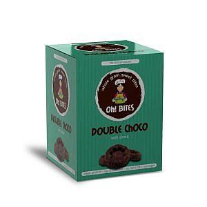 Сладки хапки - двоен шоколад със стевия 85гр Oh! BITES