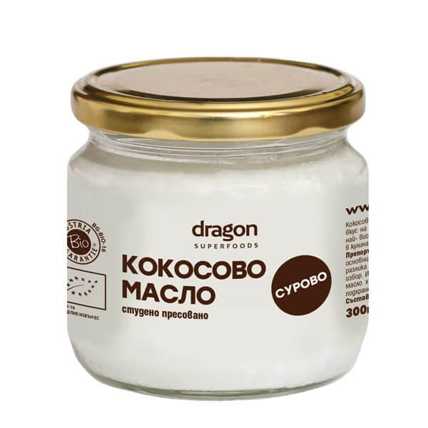 Био кокосово масло, студенопресовано, 300мл