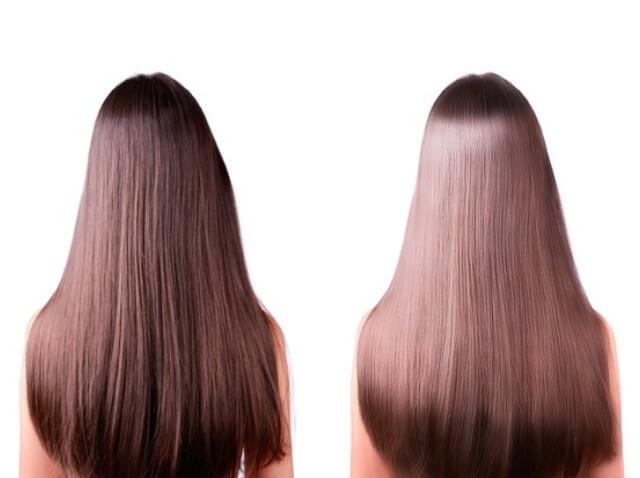 Блестяща коса