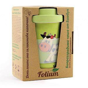 Бамбукова чаша детска 350мл Фолиум