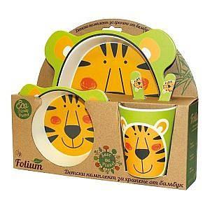 Бамбуков сет тигър Фолиум